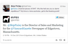 Twitter Fight! MVPBS vs. The Vineyard Gazette
