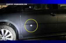Stray? Bullet Hits Car On Route 6