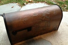 Cape Cod Craigslist Ad - Copper Mailbox (Good Luck)