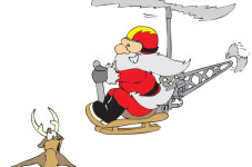 Santa To Land In Truro In A Helicopter