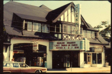 The old hyannis main street movie theatre, now is the seaside pub