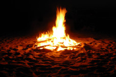 Bass River Beach Bonfire Leaves Rusty Nails Behind - Fun Police Forecast Tetanus Epidemic