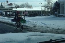 Reader Photo Of The Day - Can Man Recycling Braving The Elements