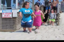 Little People Polar Plunge On Cape Cod Video