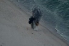 Live WWII Explosive Found On Marconi Beach - Detonated By Bomb Squad