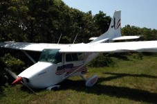 Cape Cod Tweet Of The Day - Plane Runs Into Trees In Chatham
