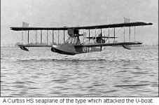 Today In Cape Cod History 1919 - Germans Attack 3 Miles Off Orleans - U.S. Planes Throw Wrenches
