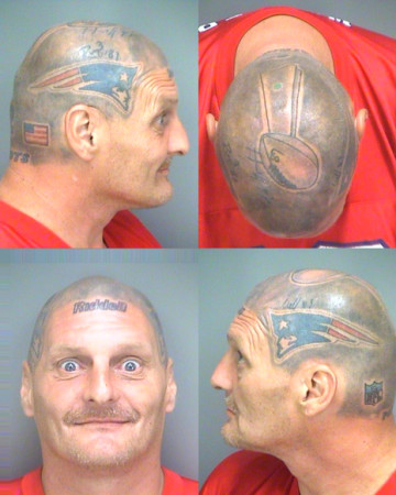 brady helmet tattoo
