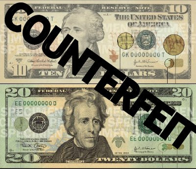 Counterfeit money for Fake money images