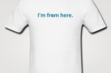 "Introducing the new ""I'm From Here"" Shirt - All Real Cape Gear On Sale For Cyber Monday!"