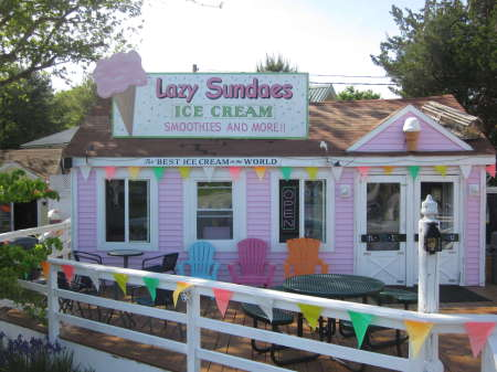 lazy sundaes cataumet