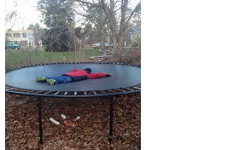Cape Cod Virtual Yard Sale Post Of The Day - Trampoline With A Bonus