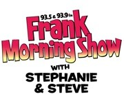 We'll Be On FRANK FM With Stephanie And Steve at 7