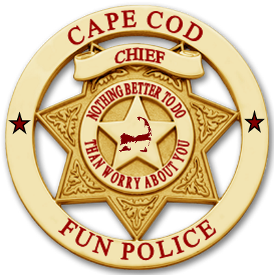 fun police chief badge