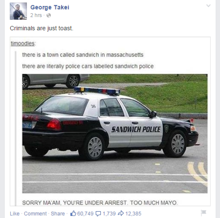 george sandwich police