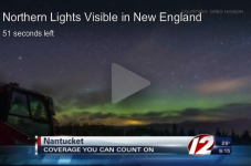 Northern Lights Were Visible From Cape Cod And The Islands?