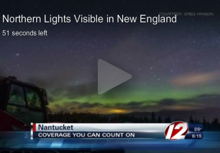 northern lights cape cod