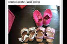 Cape Cod Mom Re Sale Ad Of The Day - Left Sandal Only