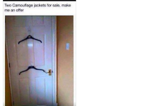 Cape Cod Virtual Yard Sale Ad Of The Day - Two Camouflage Jackets