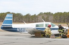 Plane Lands On Martha's Vineyard With No Landing Gear - See You On The Ferry!