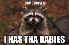 Another Sign Of Spring... It's Rabies Baitin' Time!