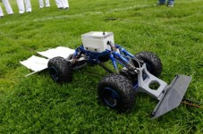 Check Out This Tick Killing Robot Being Tested On Cape Cod