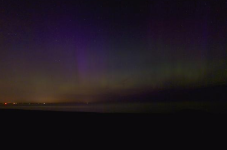 The Northern Lights Were On Display Over Cape Cod Last Night