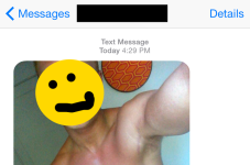 The Mind Of Frank Anthony: Who Gave My # To This Dude That Sent Me Nude Selfies?