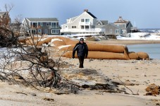 Sandwich Beachfront Homeowners Upset About All The Free Sand They Are Getting