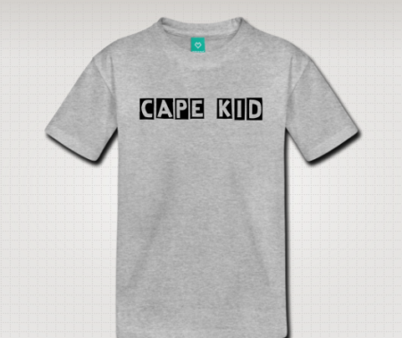 cape kid shirt